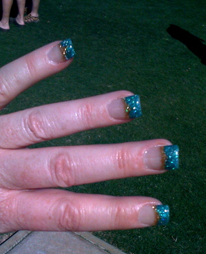 Heidi's awesome nails