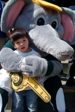 Cute fan with Stomper