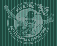 Braden Perfect Game logo