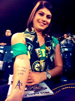 Thumbnail image for Oakland A's tattoo