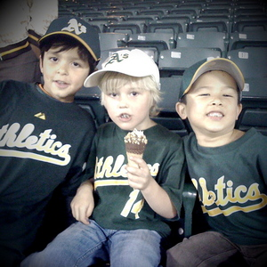 Thumbnail image for 5 year old A's fans!
