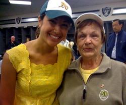 Kara and Grandma Peggy Lindsey