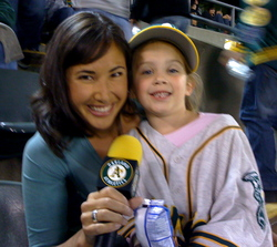 Kara and 5-year old fan