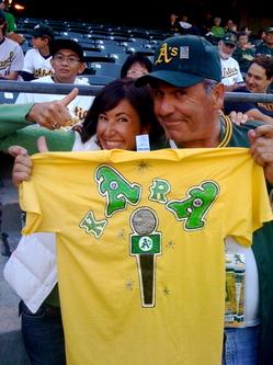 """Thumbnail image for Kara, Dan and his """"Kara"""" t-shirt"""