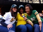 Interviewing some cute A's fans with serious player crushes!