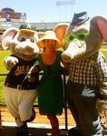 Stomper and I celebrate Fathers' Day with his dad Stanley