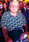 "Our oldest A's fan: ""One hundred and one and still having fun!"""